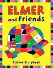 Elmer and Friends Sticker Storybook by David McKee (Paperback, 2006)