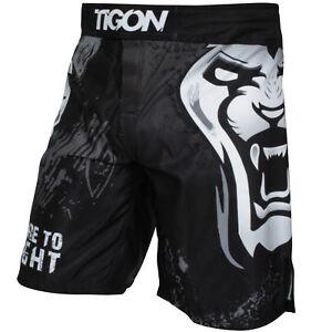 Tigon MMA Shorts Fight Muay Thai UFC Grappling Dragon Short Kick Boxing Cage Pants