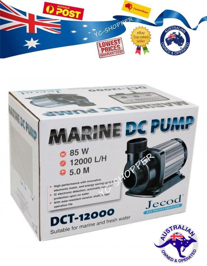 JECOD DC 12000LPH Water Return Pump Variable Speed Energy Saving Marine Grade