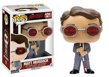 Funko Pop Marvel Daredevil: Matt Murdock Vinyl Bobble Head Action Figure Toy 121