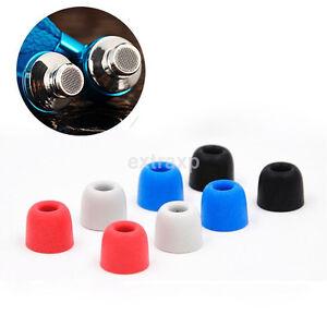 2-Par-de-espuma-de-memoria-4mm-auricular-oreja-consejos-tampon-obturador-para-Universal-In-Ear