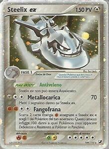 POKEMON-Steelix-Ex-109-115-Holo-Ex-Forze-Segrete-ITA-EX