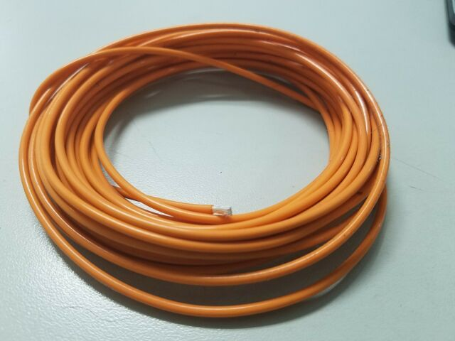Teflon TFE Wire Orange 14 AWG Multi Stranded Hook up UL 1180 200c ...