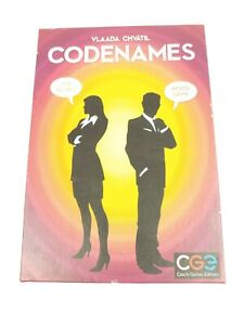 Vlaada Chvatil 'CODENAMES' Code Names Word Card Party Game - Open Box - Age 14+