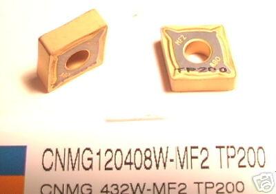 MF2 TP200 SECO INSERTS CNMG 432 W