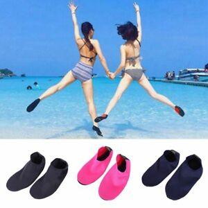 Ladies Men Water Shoes Aqua Socks Diving Socks Wetsuit Non-slip Swim Beach Sea#