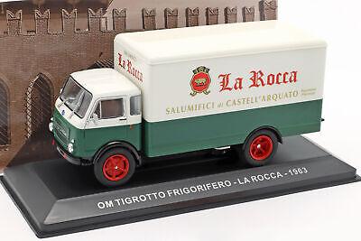 OM Leoncino Lieferwagen Grünland Baujahr 1959 braun beige 1:43 Altaya