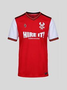 Kidderminster Harrier Football Club home shirt 19//20 Kids 8 Years To 15 Years