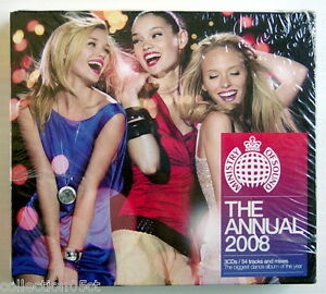 THE-ANNUAL-2008-MINISTRY-OF-SOUND-3CDs-54-TRACKS-amp-MIXES-UNUSED-amp-UNOPENED