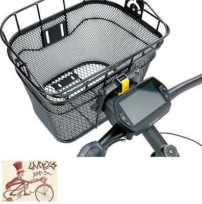 AXIOM FRESH MESH DLX HANDLEBAR FRONT BICYCLE BASKET