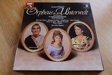 OFFENBACH Orpheus in der Unterwelt Rothenberger MATTES 2LP box EMI 157-30 802/03