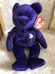 TY Beanie Babies - Princess - Diana Memorial Bear Great Condition ... b8d2cb84fb4