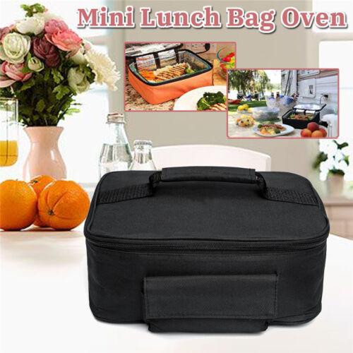 Drive Picnic Camping Car Portable Electric Oven Hot Food Bento Tote Heating Bag