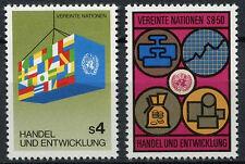 United Nations Vienna 1983 SG#V34-5 Trade And Development MNH Set #A91984