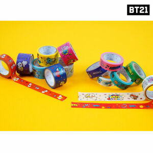 BTS-BT21-Official-Authentic-Goods-Masking-Tape-2ea-SET-by-Kumhong-Fancy