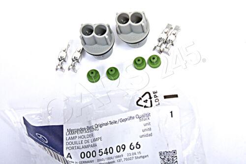 Original MERCEDES Seitenblinker Lampenträger x2 0005400966