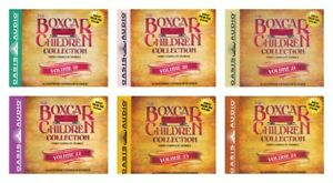 NEW-Boxcar-Children-Set-of-6-Albums-19-20-21-22-23-24-Audio-CD-Books-Collection
