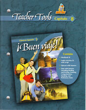 GLENCOE SPANISH 3 BUEN VIAJE!:  TEACHER TOOLS CAPITULO 8 - NEW!