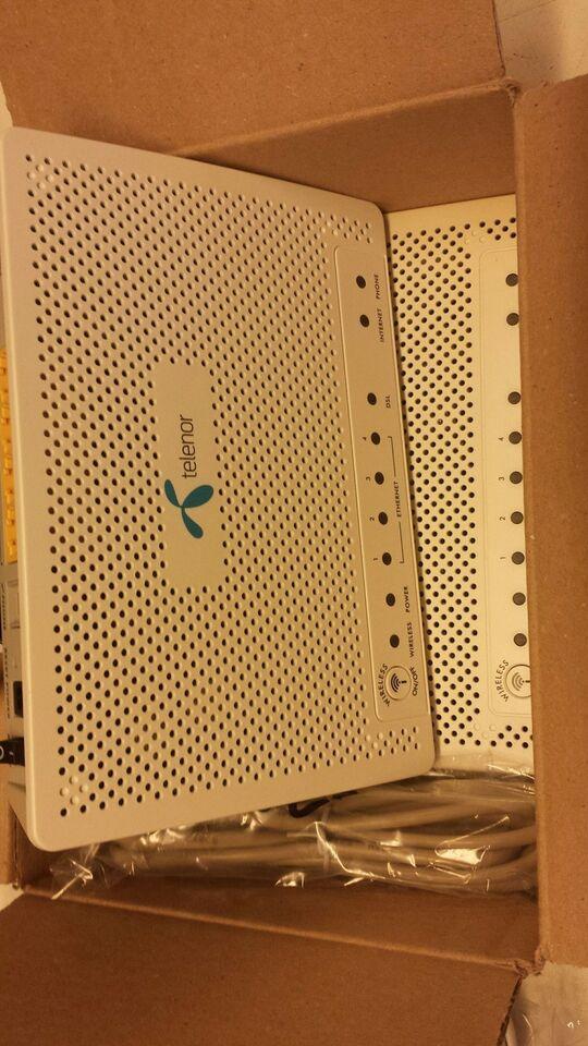 Router, wireless, Zyxel – dba dk – Køb og Salg af Nyt og Brugt
