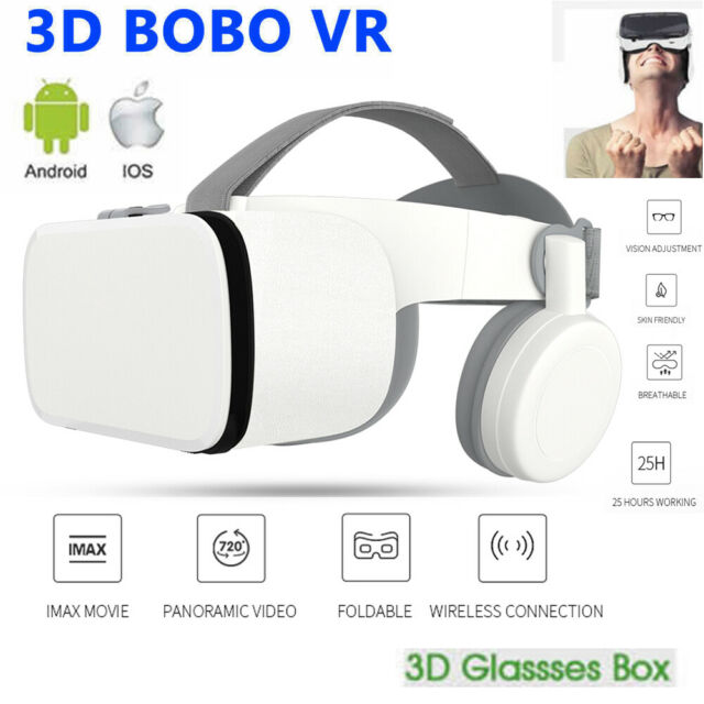 BOBO VR Z6 Bluetooth VR Virtual Reality Headset 3D Glasses VR Glasses Video