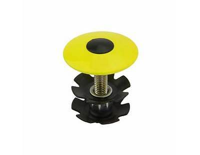 """bike Headset Alloy Tap 1 1//8/"""" Caps Yellow.Bicycle Alloy Tap Part  173860"""