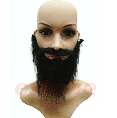 Funny Fancy Halloween Party Fake Beard Moustache Mustache Facial Hair Costume