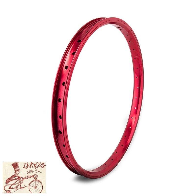 SE RACING BIKES J24SG  36H---20  RED BICYCLE RIM