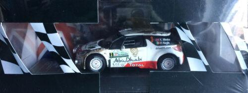 Rally Podium Set #13 Citroen DS3 R5 Monte-Carlo WRC Diecast Model 2015 DIECA