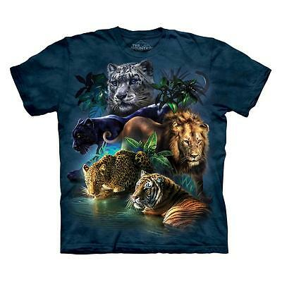 Indian Collage NWT The Mountain 100/% Cotton Unisex Adult T-Shirt