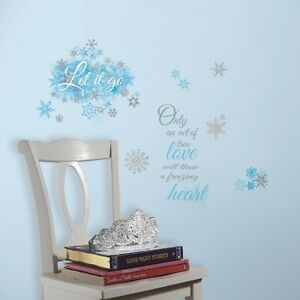 Image Is Loading Disney FROZEN LET IT GO LETTERS WALL DECALS