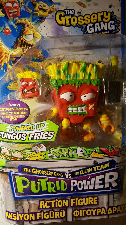 Grossery Gang Powered up Fungus Fries Putrid Power Action figure