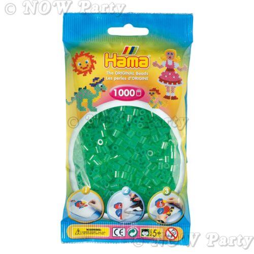 69 Colours Childrens Boys /& Girls Kids Craft Supplies Hama Beads 1000 Pieces