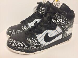 acheter populaire e1a13 0c1e2 Details about Nike Dunk High Premium Nikebook size 12 Black White  316923-101. notebook OG Rare
