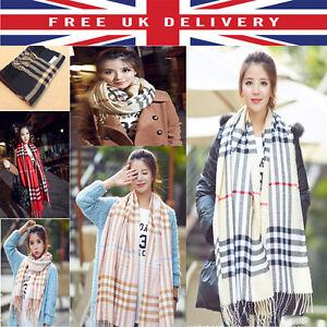 c12c86b3dd7a ... pour-femmes-large-echarpe-foulard-epais-ecossais-enveloppant-