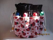 Bingo Bag   Ladybugs Gift Mother's Day  Gramms  Xmas  Graduation  Washable