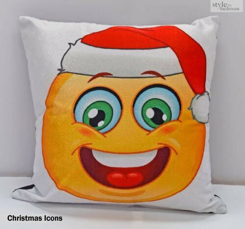 Winter /& Christmas Print Cushion Covers or Filled Cushions