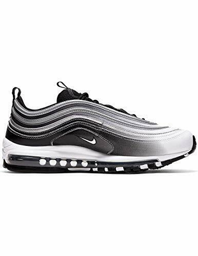 Nike Air Max 97 SNEAKERS Reflective Silver Black/white 921826-016 Men's  Size 10