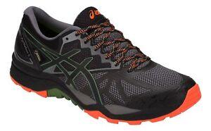 Asics-Men-039-s-Running-Shoes-Gel-Fujitrabuco-6-G-Tx-Grey-Multicolour
