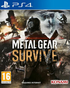 Metal-Gear-Survive-amp-Survival-Pack-DLC-PS4-NEW-FACTORY-SEALED