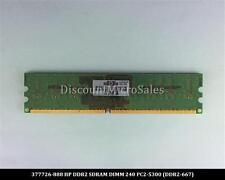HP 377726-888 DDR2 1GB PC2-5300 Non ECC 667Mhz RAM Memory