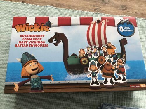 Wickie Drachenboot Schaumstoff Steck Schiff Studio 100  Bade Spaß neu Boot