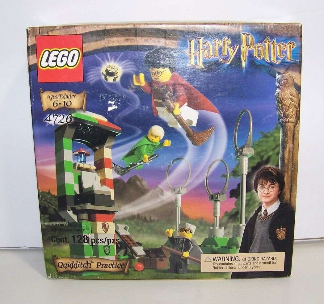 NEW   Lego 4726 Harry Potter Quidditch Training Sealed in Box