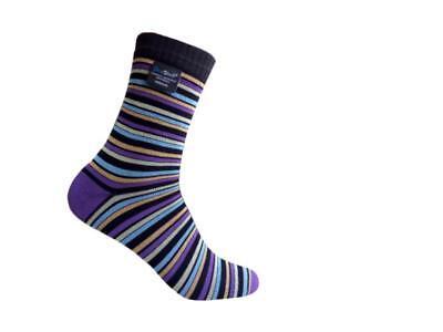 Large 2 Pack Dexshell Ultraflex Sock Stripe