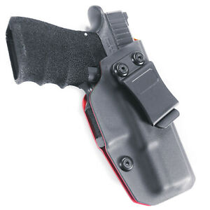 Fits-Glock-19-Gen-3-4-5-IWB-Red-Kydex-Concealed-Carry-Retention-Holster-Right