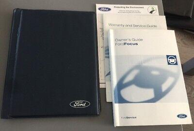 #20 Ford Focus I Proprietari Manuale Manuale & Cartella Libro Confezione Da 1998-2004 Mk1 Mki- Fissare I Prezzi In Base Alla Qualità Dei Prodotti