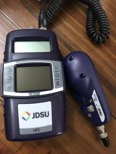 JDSU HP3-60 Fiber Inspection Scope Identifier and probe FBP-P5 Splicer Otdr