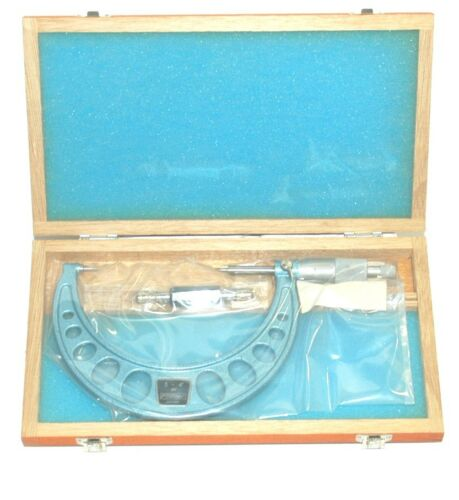"""Fowler 52-226-104 Point Micrometer 3-4/"""""""