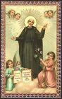 SANTINO HOLY CARD IMAGE PIEUSE - SAN GIUSEPPE CALASANZIO - SACERDOTE