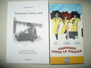 """VHS """"CANTANDO SOTTO LA PIOGGIA"""" ALLEGATA A BASCONE I. - TOMMASO L'OMUCANI"""