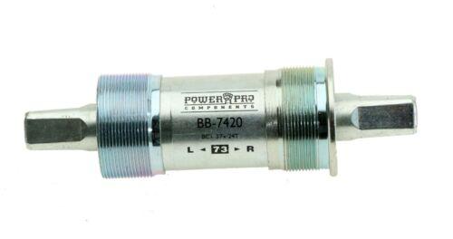 TH Industries Power Pro 7420 Square Taper Bottom Bracket JIS 73mm x 122.5mm NEW